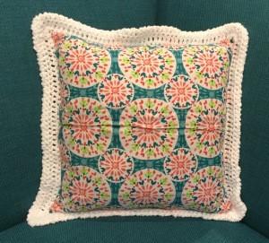 Crochet pillow 5