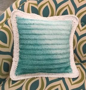 Crochet pillow 6