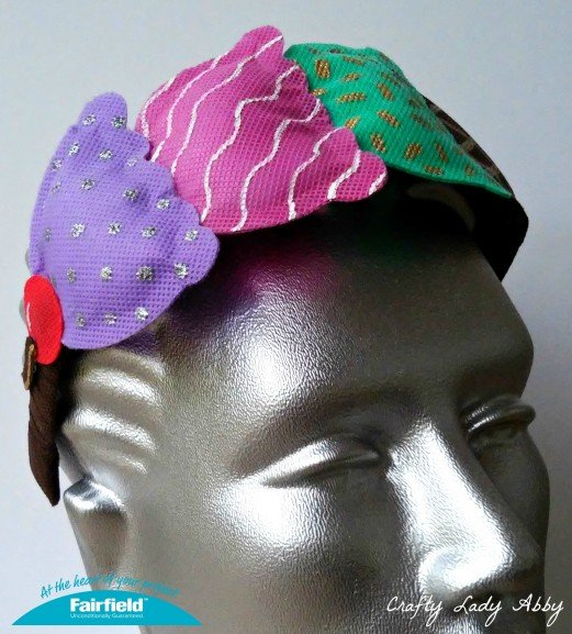 OlyFun Ice Cream Cone Headband