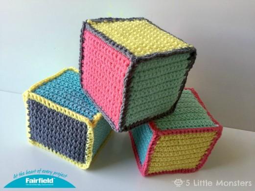 Crochet Baby Blocks