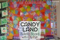 Candy Land Reading Bulletin Board with Oly-Fun