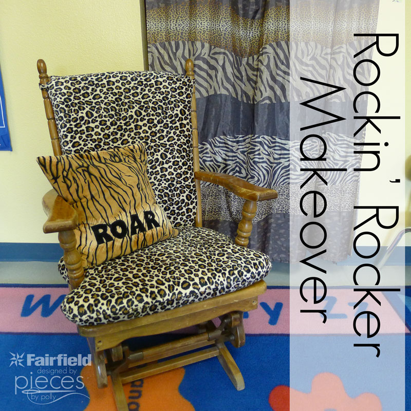 Give your old rocking chair or glider a make-over with a new cover. Easy instructions