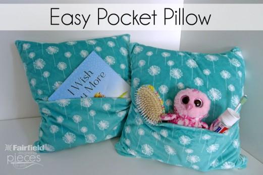 Easy Pocket Pillows