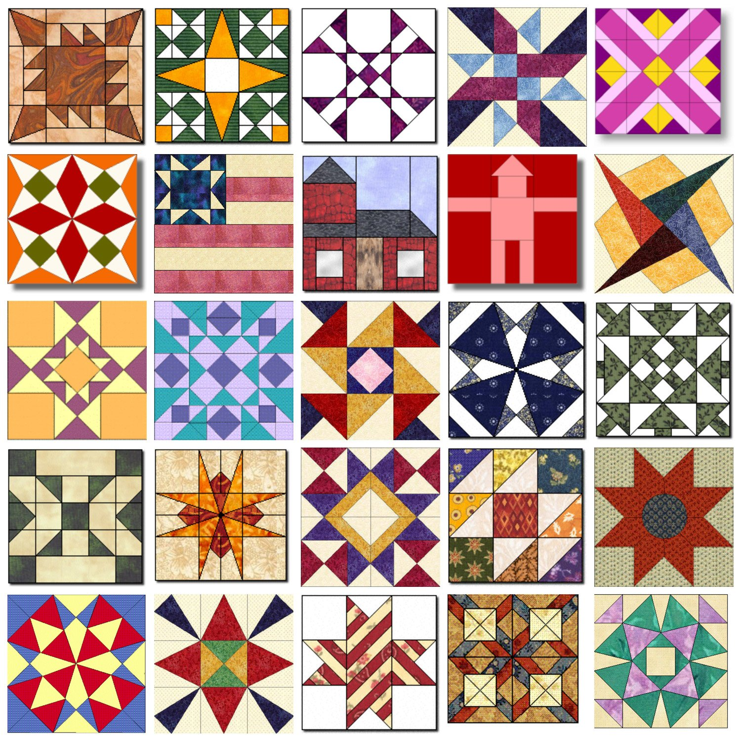 50 State Quilt Block Patterns Fairfield World Blog