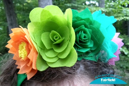 OlyFun Desert Flowers and Succulents Headband