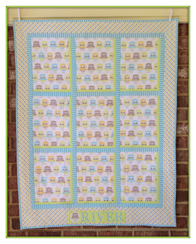 A Baby Quilt for River