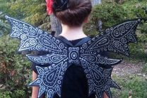 Dark Fairy Costume Wings