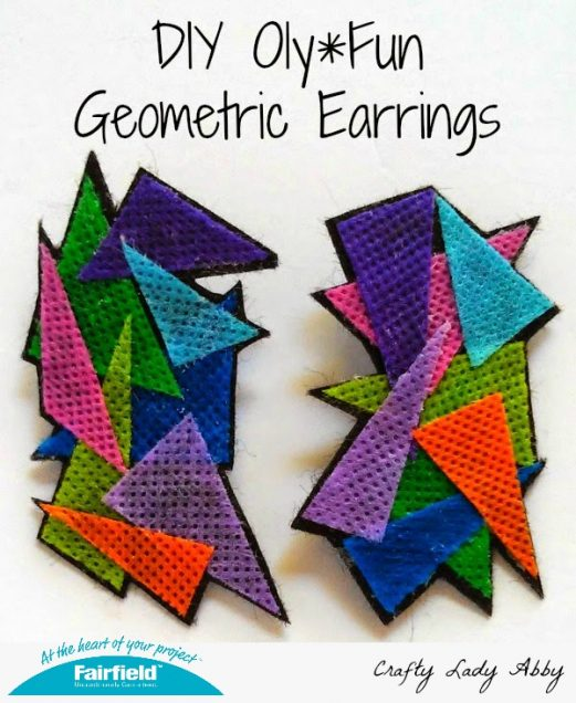 DIY Oly*Fun Geometric Earrings