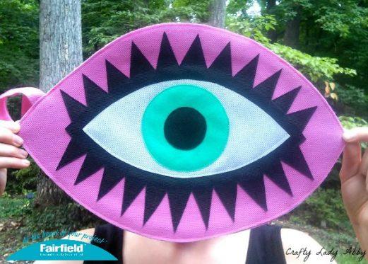 Di$count Univer$e Inspired OlyFun Eye Clutch