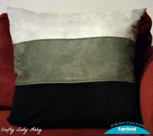 Monochrome Cuddle Suede Pillow