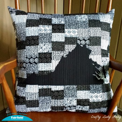 Patchwork State Pride Pillow