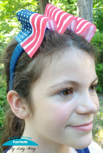 Patriotic American Flag Headband