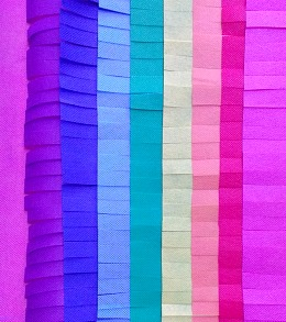 Rainbow Pinata Fringe Pillow 1