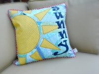 Sunny Sky pillow tutorial