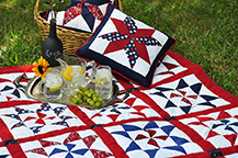Red, White and Blue Celebration Quilt