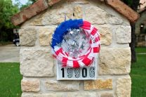 Patriotic Wreath Craft Project
