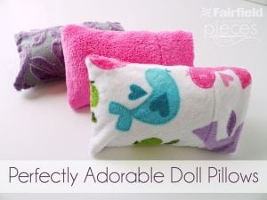 Doll Pillow Tutorial