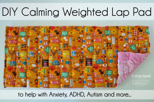 DIY Calming Weighted Lap Pad