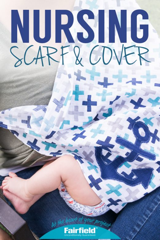 Easy Nursing Scarf and Cover
