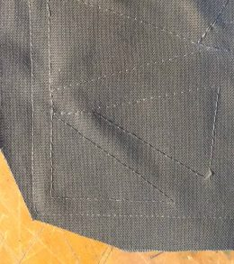 Geometric Metallic Ombre Pillow 2