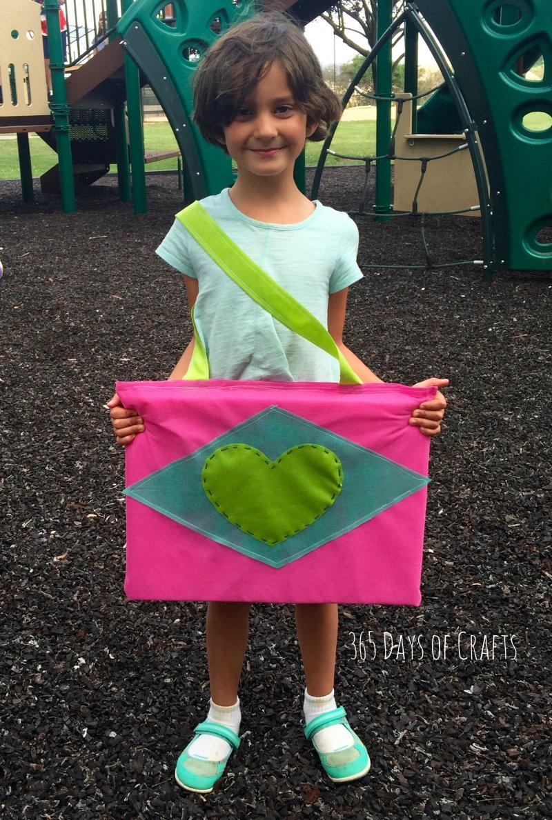 Girl Scout Craft Sit Upon