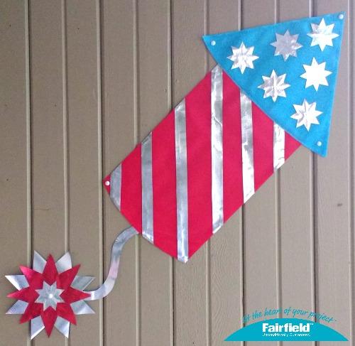 Patriotic Fireworks Wall Decor 9