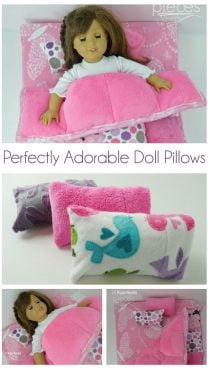 Perfectly Adorable Doll Pillows