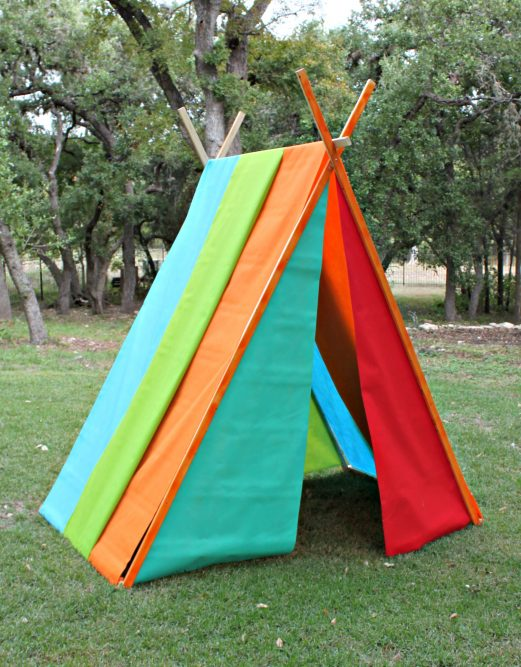 Colorful Kids Play Tent