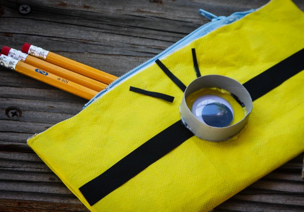 minion pencil pouches