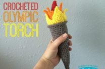 Crocheted Olympic Torch