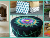 Pouf and Tuffet Tutorial Round Up