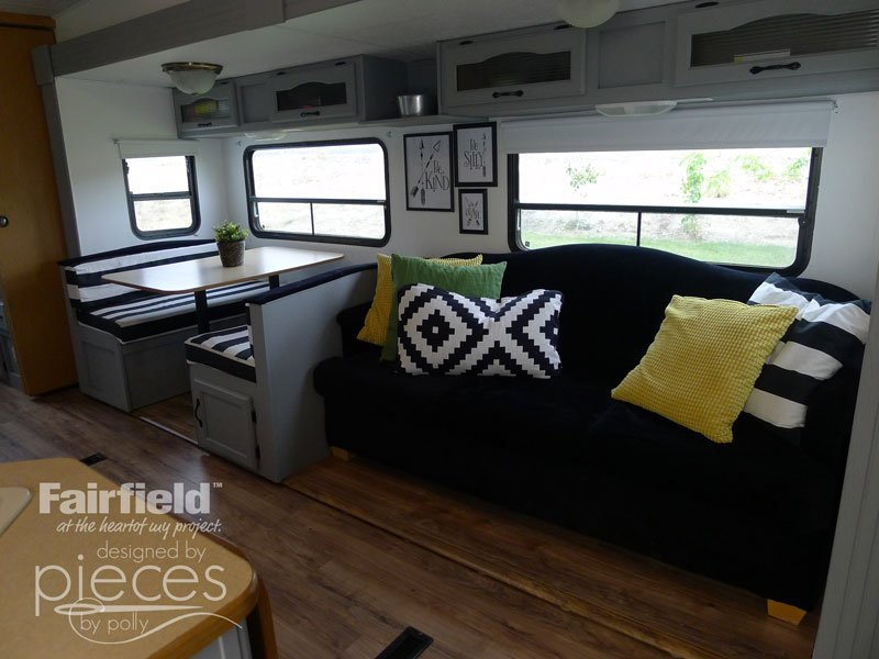 You really won't believe how easy it is to replace your own Hide-a-Bed Mattress. Check out this Stunning Camper Update...but this could work for any Hide-a-bed.