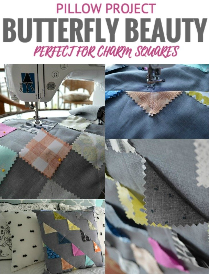 http://thesewingloftblog.com/diy-butterfly-beauty-pillow-cover/ DIY-Butterfly-Pillow-Cover-1