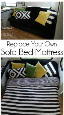 DIY Sofa Bed Mattress