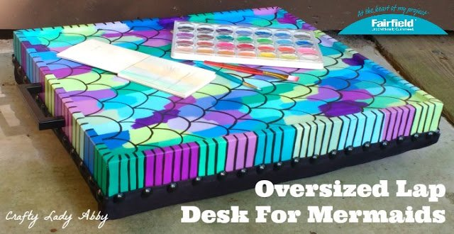Oversized Lap Desk For Mermaids HEADER