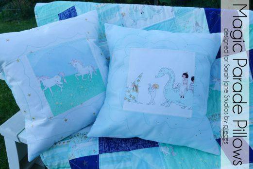 Simple Magic Parade Pillows