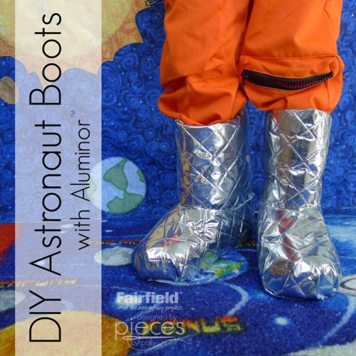 Astronaut Moon Boots - Halloween Costume Accessory