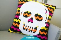 Skull Halloween Pillow