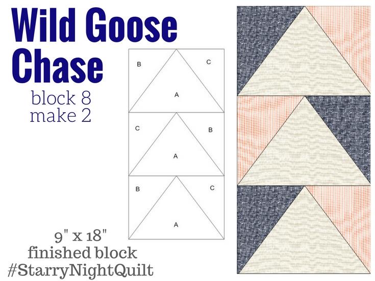 Starry Night Block 8 | Wild Goose Chase - Fairfield World Blog