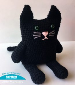 crochet-black-cat