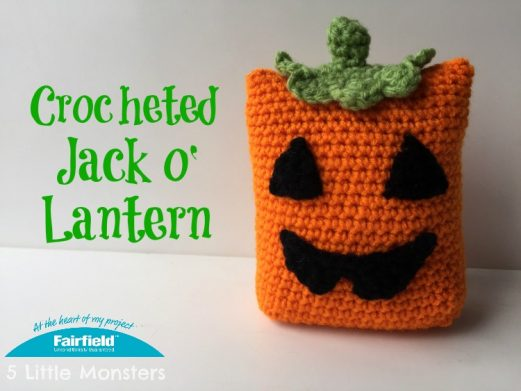 Crocheted Jack o' Lantern