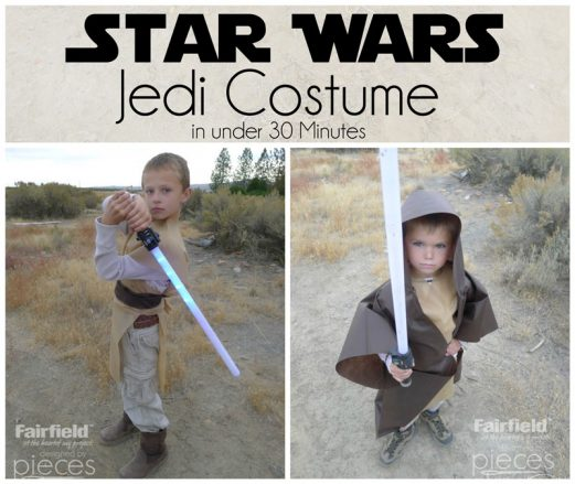 Easy Jedi Costumes - Last Minute Star Wars Costumes - The Force Awakens