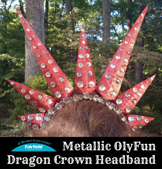 Metallic OlyFun Dragon Crown Headband