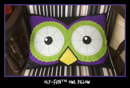 Oly-Fun™ Owl Pillow
