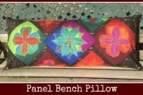 Panel Bench Pillow