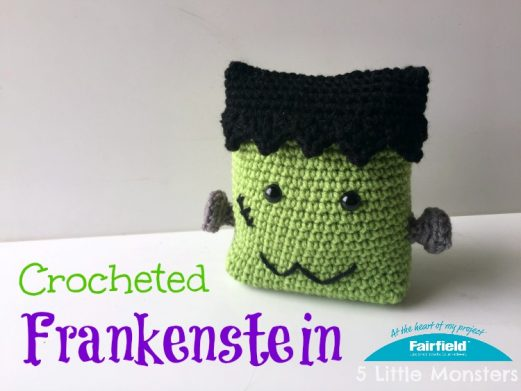 Crocheted Frankenstein