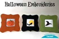 Trio of Halloween Embroideries