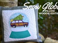 applique pillow woodie main