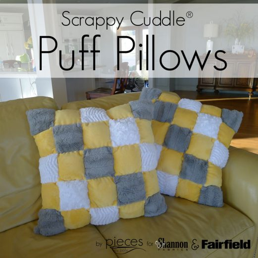 Scrappy Cuddle Puff Pillows