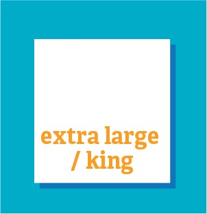 Extra Large / King 100
